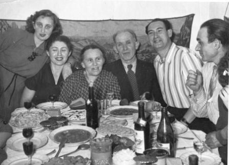 Герценовы 1952 год